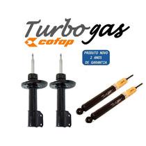 Kit 4 Amortecedor Celta 2006/2007 Original Cofap Turbogás