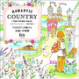 Romantic Country 3 - Livro De Colorir - Pronta Entrega