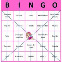 Cartelas De Bingo Para Chá De Bebe De Menina Download