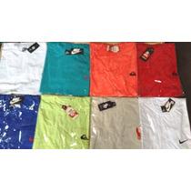 Kit 10 Camiseta Camisa De Marca Gola Redonda Atacado