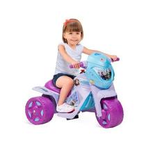 Triciclo Motoca Elétrica Infantil Menina Passeio Criança