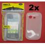Lote Atacado 2x Capa Silicone Pocket Duos S5302 S5303 Smarti