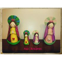 Souvenirs Virgencita Porfis En Porcelana Fría Comunion