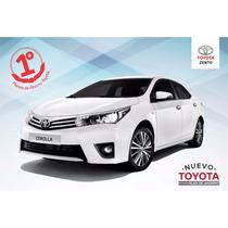Toyota Corolla Plan De Ahorro 70/30 Y 100% Financiado Zento
