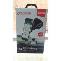 Portateléfono Universal Mobo Magnético Con Ventosa Para Auto
