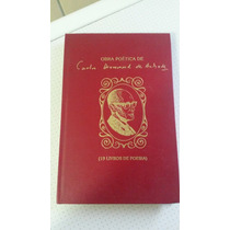 Livro Obra Poética De Carlos Drumond De Andrade