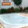 Capa Lona Transparente Cobertura Piscina Translucida 5x3 Mts