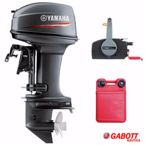 Motor Fuera De Borda Yamaha 40 Hp Con Comando Gabott