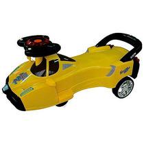 Gira Gira Car Fórmula Plasmacar Ecocar Carrinho Amarelo
