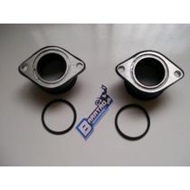 Coletor C/ Anéis Admissão Do Carburador Honda Cb 400 450