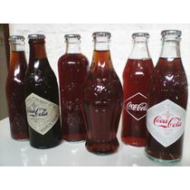 Colección De Botellitas De Coca Cola Las 6
