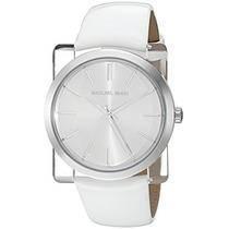 Michael Kors De Las Mujeres Kempton Reloj Blanco Mk2482