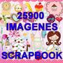 25.900 Plantillas Scrapbook Decoupage + Envio Gratis