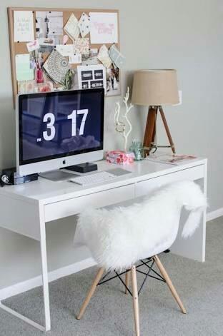 Computer Desk Setup Ikea Hacks