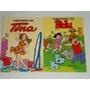 2 Gibizinhos Tina Nº 2 E Bidu Nº 7 Antigas. Ed. Globo