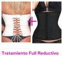 Pack Faja Yeso + Corset Reductivo Y Modelador