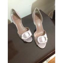Sandália Peep Toe My Shoes 37 Lilás