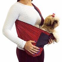 Bolsa Transporte Cães Gatos Sling Pet Canguru P Pet Shop