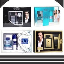 Estuche The Secret, Golden, Splash, Blue Seduction 100ml