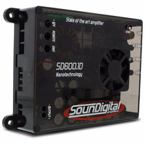 Modulo Amplificador Soundigital 600w Rms Sd600.1 2 Ohms