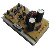 Kit 2 Placas Montada Ampli Classe D 1k2w Rms 2ohms + Fonte