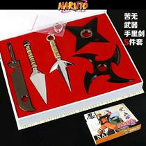 Shuriken Kunai Zabuza Minato Naruto Set 5 Piezas Metal Anime