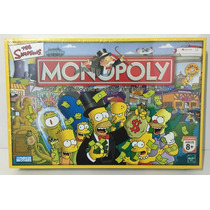 Juego Monopoly The Simpson Hasbro Toyco Art 9770