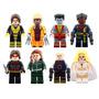 Set Sw2 X Men Apocalipsis Colosus Sabre Compatible Con Lego