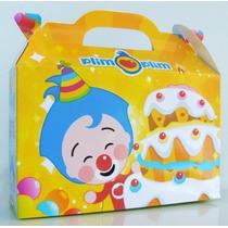 Cajita Valijita El Payasito Plim Plim Souvenir Pack X50