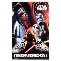 Cartel Bienvenidos De Star Wars