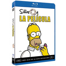 Blu Ray Los Simpson La Pelicula The Movie Tampico Madero