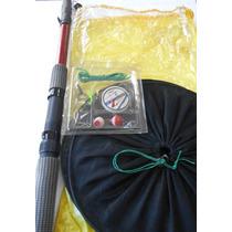 Equipo Pesca Pejerrey Caña + Bolsa + Red + Accesorios Oferta