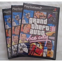 Gta Vice City Playstation 2 Original Ntsc * Novo E Lacrado *