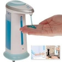 Dispenser Com Sensor Automático Sabonete Liquido Antigermes