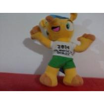 Fuleco Boneco Mascote Fifa World Cup Brazil 2014