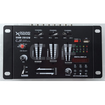 Consola Mixer Dj 4 Ch Sound Xtreme Sxm 2012 Usb Mic C J F