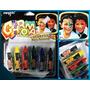 Set De Lápices Pinta Cara - 6 Crayones -
