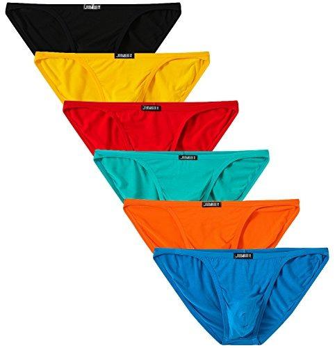 Jinshi Mens Bikini Briefs Low Rise Tagless Ropa Interior De -   99.000.000  en Mercado Libre 1a2733602296b