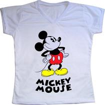 Camiseta Personalizada Mickey Mouse Disney