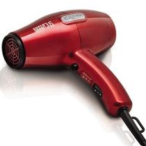 Secador De Cabelo Ga.ma Super Compact 3.6 Íon Red 1900w