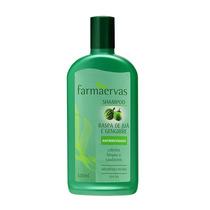Shampoo Farmaervas Raspa De Jua+gengibre Anti-residuos 320ml