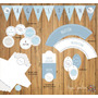 Kit Imprimible De Decoración Baby Shower/bautismo