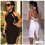 Vestido Midi Longuete Nicki Minaj Kim Kardashian Bojo Balada