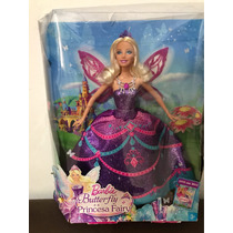 Barbie Butterfly E A Princesa Fairy Mattel