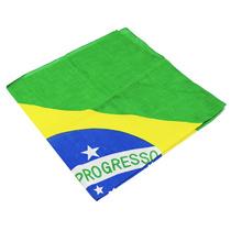 Lenço Bandana - Bandeira Brasil - House Of Rock
