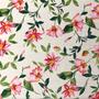 Flores Blanco-Rosa (Polilycra)