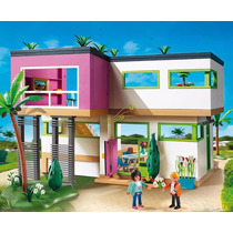 Retromex Playmobil 5574 Mansión Moderna Lujo Ciudad Casa
