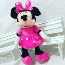 Minie Rosa Pelúcia Kit Com 10