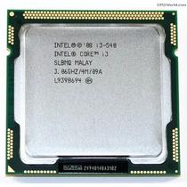 Procesador Intel Core I3 540 3.06ghz Lga 1156 4mb +disipador