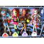 Monster High Pack 4muñecas Noche De Fiesta Mattel Oferta!!!!